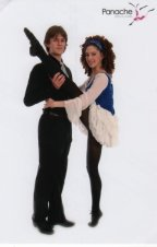 2 hand with Lloyd in our ballet school concert 2009