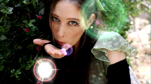 Acting in the role of Faerie Queen for the draft film version