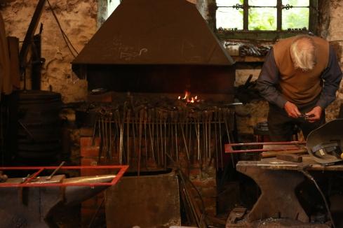 Blacksmith at Rowsley