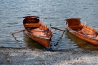 row boats by Lake Windemere